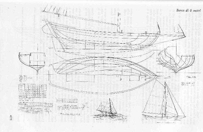 La storia di mylady una barca di sciarrelli for Piani di costruzione di magazzino